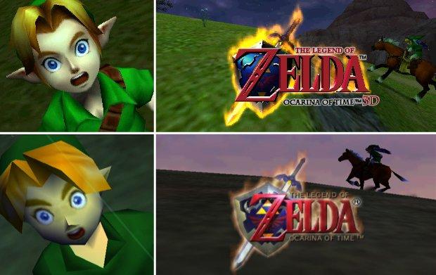 Ocarina of time ( N64 ,  3DS )  Zelda-3ds-n64-ocarina-of-time-screenshot-comparison-article_image
